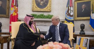 Saudi Arabia backs Israel and Trump against Palestinians