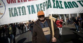 Greece on strike
