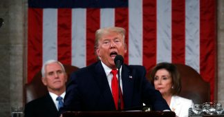 Trump delivers right-wing tirade against socialism in State of the Union address
