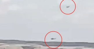 Turkish F-16 harass Greek helicopter in Evros; low flights at 500ft(video)