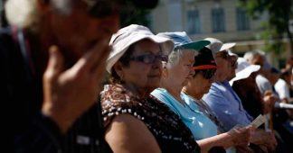 Families in Greece still rely on pensions