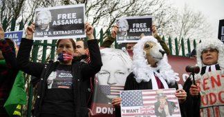 Julian Assange denied bail by London court