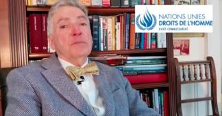 """Alfred de Zayas: """"Les sanctions économiques sont un crime contre l'Humanité"""""""