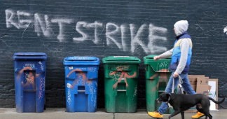 The largest rent strike in nearly a century