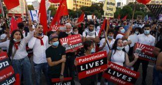 'It's a war crime': Thousands rally in Tel Aviv against Netanyahu annexation bid