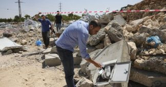 Israel Demolishes Covid-19 Clinic in Epicenter of West Bank Outbreak