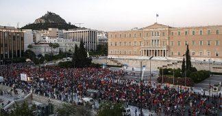 The Greek  government brings back military junta's legislation to oppress demonstrations