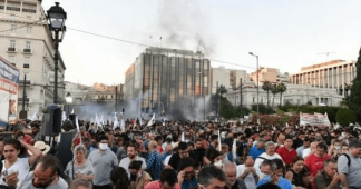 Greece: Curtailing fundamental rights, using agents – provocateurs to dissolve peaceful demonstrations