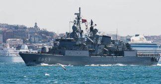 Turkey's military exercises between two Greek islands raise EU concern