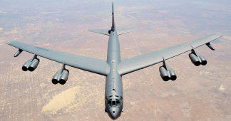 Russia scrambles EIGHT jets to intercept three US NUCLEAR-CAPABLE B-52 bombers testing Crimean borders over Ukraine & Black Sea