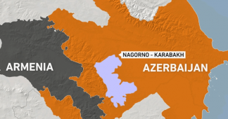 Hostilities break out between Armenia & Azerbaijan over long disputed Nagorno-Karabakh region
