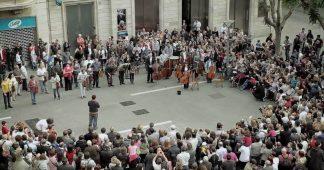 Ode To Joy (Beethoven) | Som Sabadell flashmob
