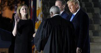 Amy Coney Barrett confirmed to Supreme Court by GOP senators