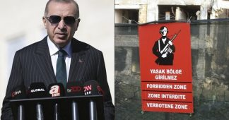 Erdogan Plans to Have Picnic in the Occupied Cypriot Town of Varosha