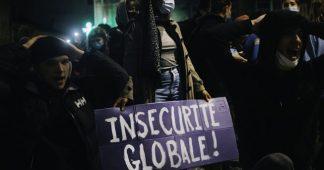 Loi Sécurité Globale. Déterminés, des milliers de manifestants contre l'offensive autoritaire du gouvernement !
