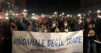 Thousands protest in north over Turkish interference