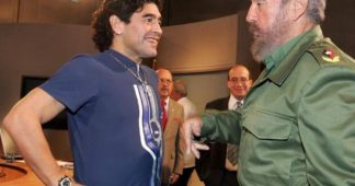 From Diego Maradona's farewell to Fidel Castro (four years ago)