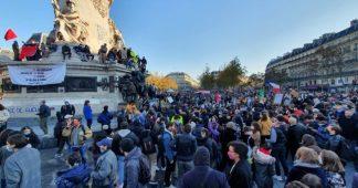 Marche des libertés. Mobilisation massive dans toute la France contre la loi Sécurité Globale