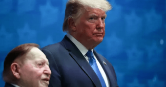 Billionaire casino boss Sheldon Adelson splashes the cash in bid to help Trump