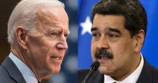 Biden Seeks Negotiated Solution in Venezuela to End Crisis