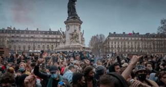 Tens of thousands protest against new French security bill