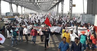 Massive state repression of protesters in West Bengal demanding jobs and educational opportunities