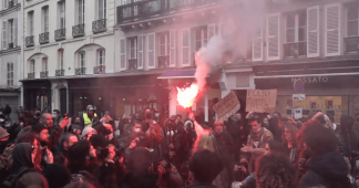 'My camera against your baton': Protesters rally in Paris as Senate debates controversial bill aimed at protecting police