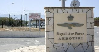 No to the British Bases in Cyprus