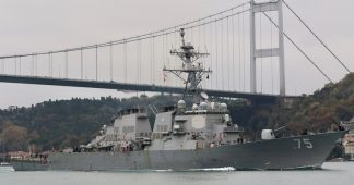 US warships set sail for Black Sea amid stand-off with Russia over military conflict in Eastern Ukraine, Turkish diplomats report
