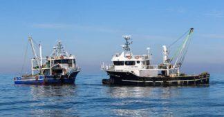 Turkish fishing boats enter Greek territorial waters south of Gavdos