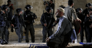 In pictures: Israeli forces storm al-Aqsa Mosque on last Friday of Ramadan