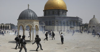 Israeli police attack worshippers at al-Aqsa hours into ceasefire