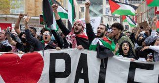 Arms trade trial delayed as Gaza protests rock Britain