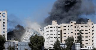 Τhe Far Right International (Netanyahu, Trump etc.) celebrates the bombing of mass media