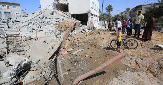Israel attacks Gaza after Jerusalem defeat