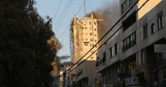 Hamas fires rockets after Israel destroys third Gaza tower