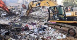 Rescuers dig for survivors as Gaza suffers 'most intense' bombing