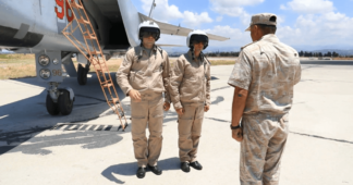 Russian Navy & Air Force begin major exercise in Mediterranean Sea as supersonic interceptor planes join country's Black Sea Fleet