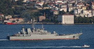 Turkish ship fires warning shots at Cyprus coastguard