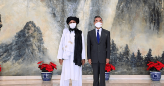 Top China diplomat Wang Yi tells US counterpart Anthony Blinken all sides must 'proactively guide' the Taliban