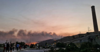 Turkish wildfires are worst ever, Erdogan says, as power plant breached