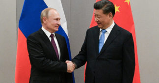 Putin and Xi pledge to keep peace in Central Asia, after US withdrawal from Afghanistan sparks fears of drug trafficking & terror