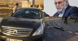 Mossad killed Iran's top nuke scientist with remote-operated machine gun