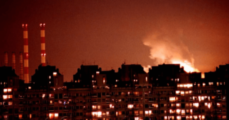 Mikis against NATO's bombings of Yugoslavia 26.4.99