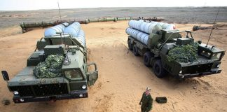 Russians fortify defense of their base as tension with US rises
