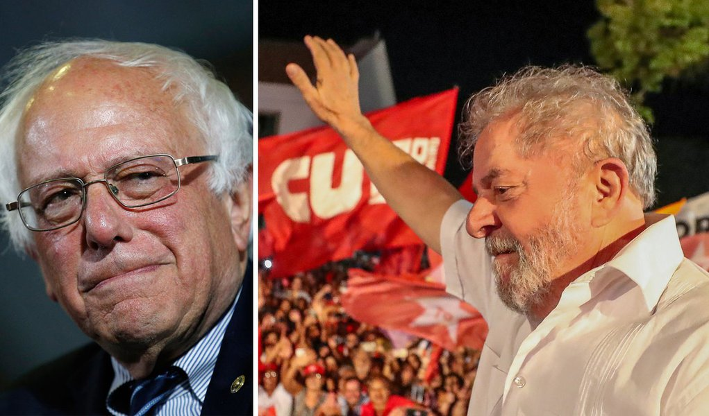 U.S. Presidential Hopeful Bernie Sanders Backs Lula's ...