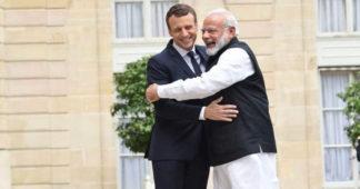 Modi and Macron: Two of Netanyahu's friends get closer